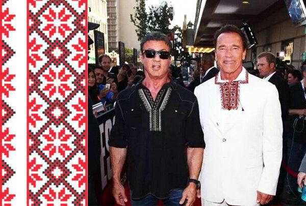 Колоритні фото голлівудських зірок у вишиванках, фото-9